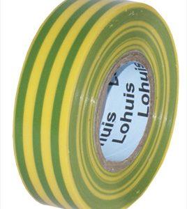 Banda adeziva PVC 20 M (0,15mm x 20mm) VERDE-GALBEN