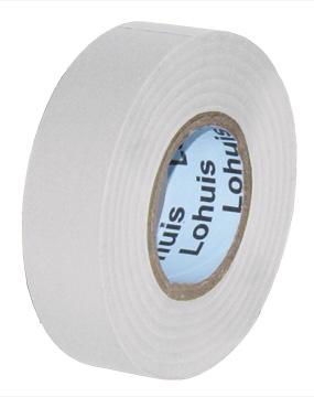 Banda izolatoare PVC 20 M (0,15mm x 20mm) ALB