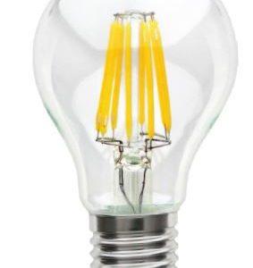 BEC DECORATIV PARA CU LED E 27 8 W