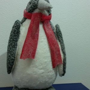 ORNAMENT CRACIUN FIGURINA PINGUIN