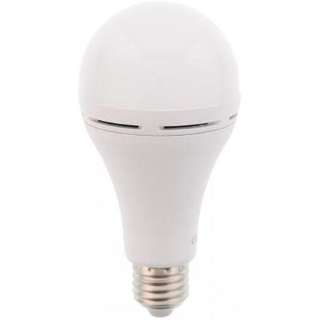 Bec LED cu acumulator E27 12W 230V lumina rece